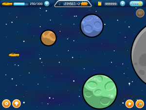 Gravity Game: Screenshot 1